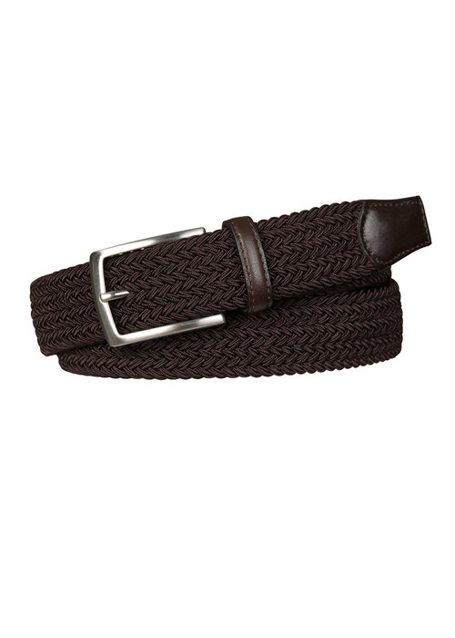 Profuomo Profuomo Belt Elastic Brown
