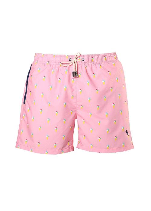 Sanwin Beachwear Sanwin Swimsuit Venice Ice Pink