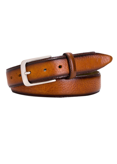 Profuomo Profuomo Belt Leather Cognac