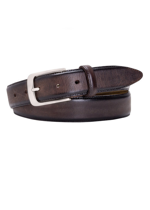 Profuomo Profuomo Belt Leather Dark Brown
