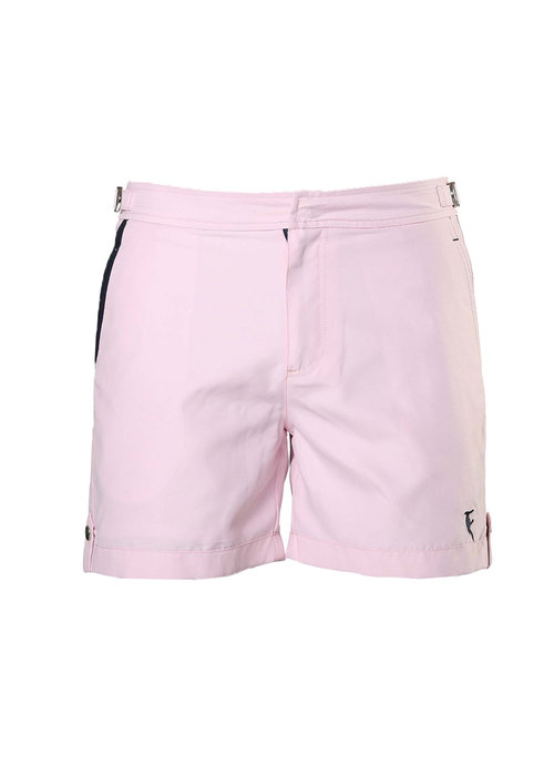 Sanwin Beachwear Sanwin Beachwear Swim Shorts Tampa Solid Flamingo Pink