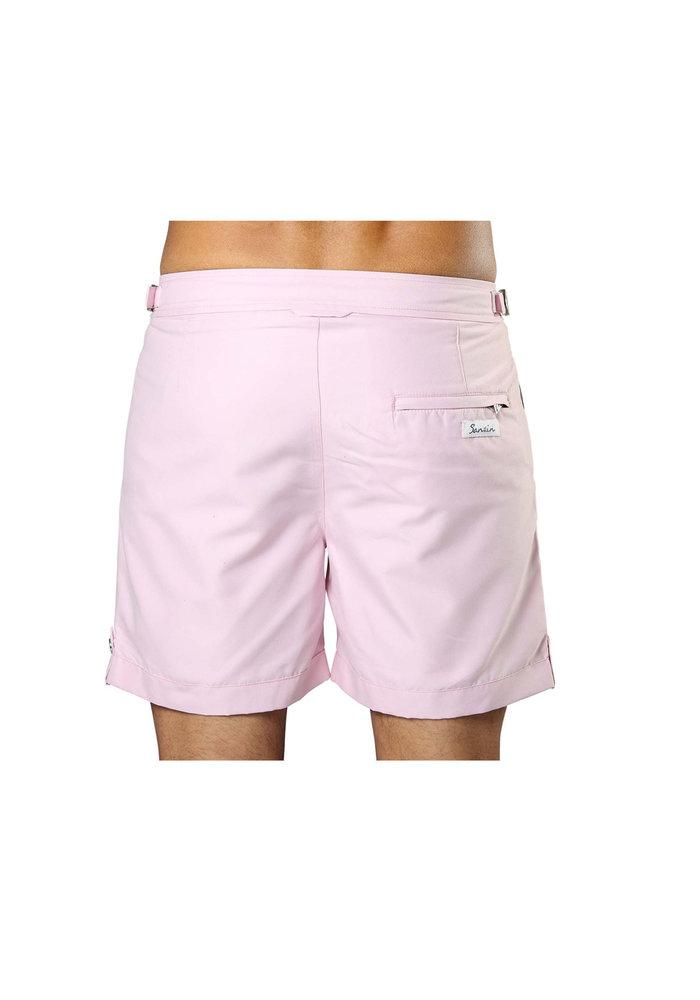 Sanwin Beachwear Swim Shorts Tampa Solid Flamingo Pink