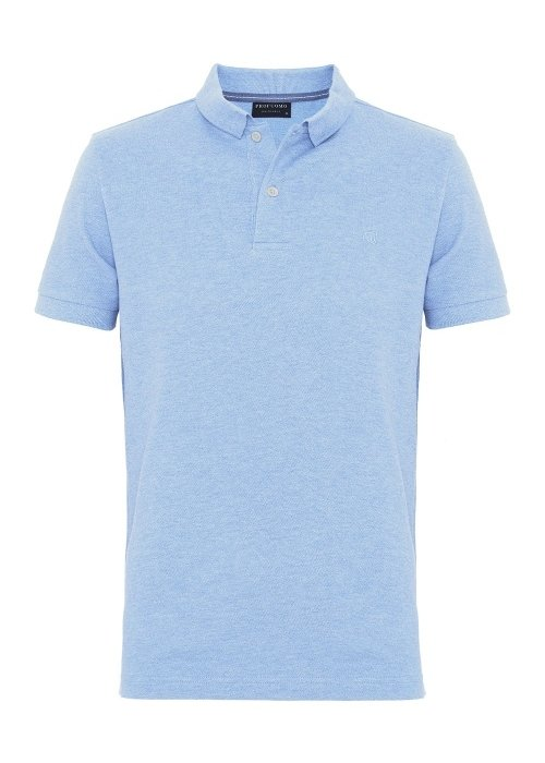 Profuomo Profuomo Polo Light Blue