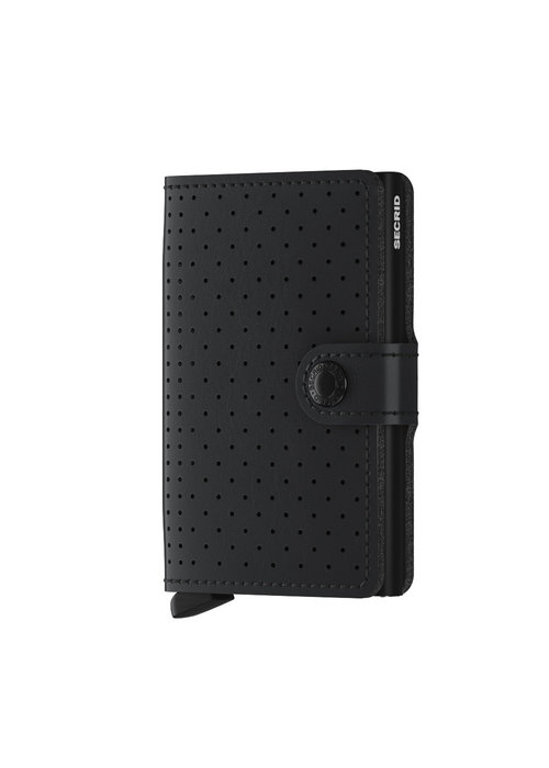 Secrid Secrid Miniwallet Perforated Black
