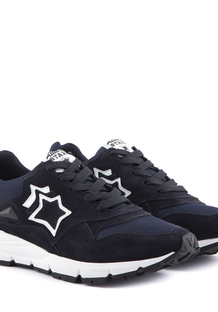 Atlantic Stars Sneakers Polaris Navy AOC-F07