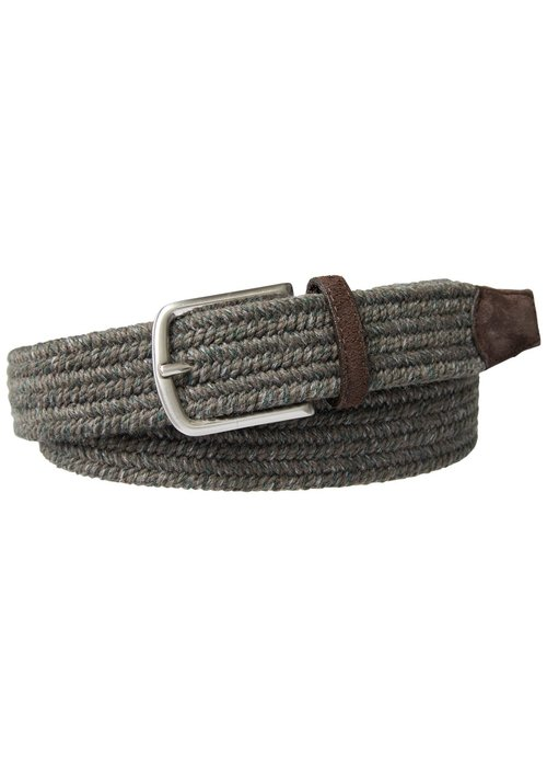 Profuomo Profuomo Belt Braided Wool Taupe Mel