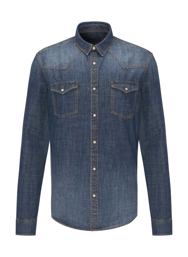 Drykorn Shirt Samu Denim 154011