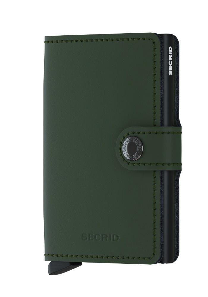 Secrid Miniwallet Matte Green-Black