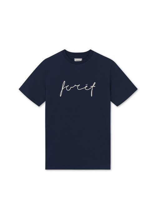 Forét Forët Slope T-Shirt Midnight Blue
