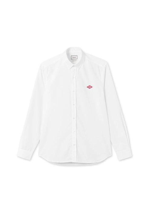 Forét Forét Falcon Oxford Shirt White