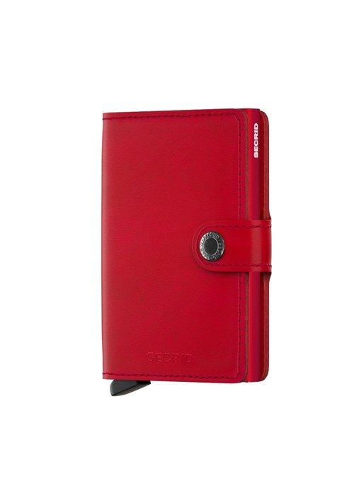 Secrid Secrid Miniwallet Original Red-Red