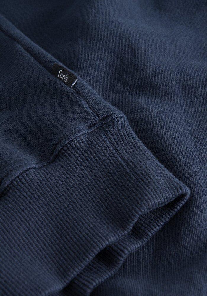 Forét Spruce Sweatshirt Midnight Blue/Red