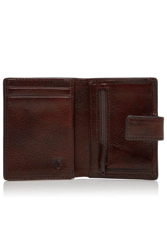 Castelijn & Beerens Mini Wallet 10 Pasjes Cognac RFID
