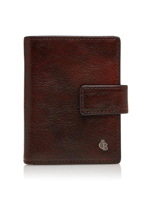 Castelijn & Beerens Castelijn & Beerens 52 0856 CO Mini Wallet 10 Pasjes RFID Cognac
