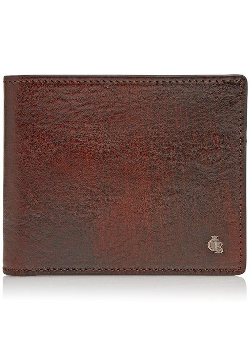 Castelijn & Beerens Castelijn & Beerens 52 4190 CO Portemonnee 8 pasjes RFID Cognac
