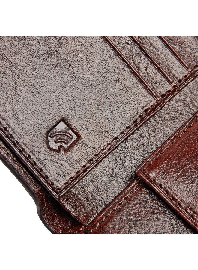 Castelijn & Beerens 52 4190 CO Portemonnee 8 pasjes RFID Cognac