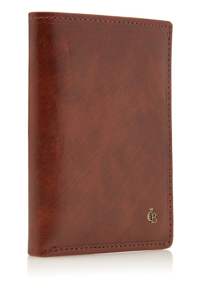 Castelijn & Beerens 62 0745 CO Creditcard Etui 6 Pasjes Cognac