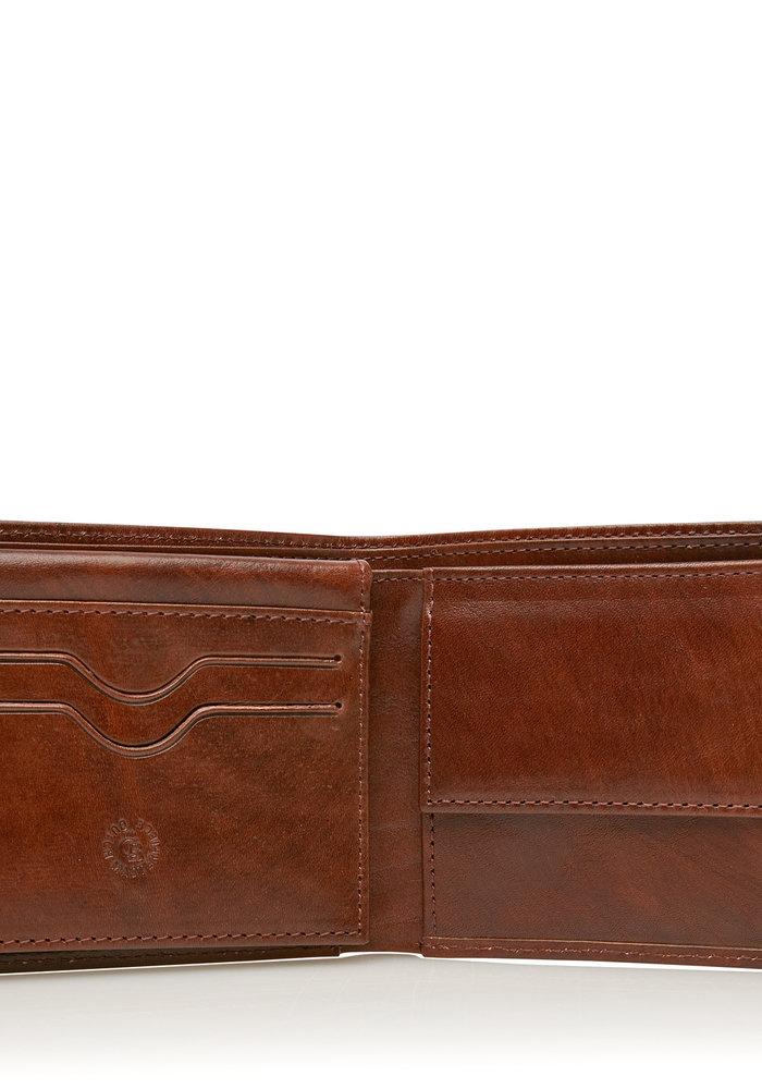 Castelijn & Beerens 62 4195 CO Billfold 7 pasjes RFID Cognac