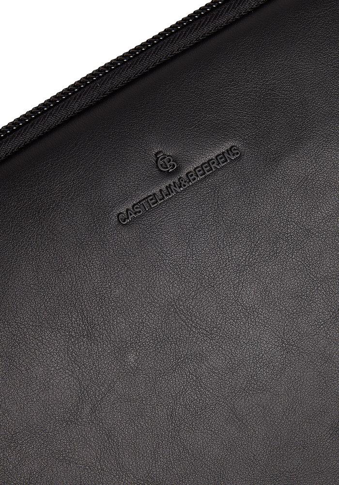 "Castelijn & Beerens 40 9248 ZW Oscar Laptopsleeve 13"" Zwart"