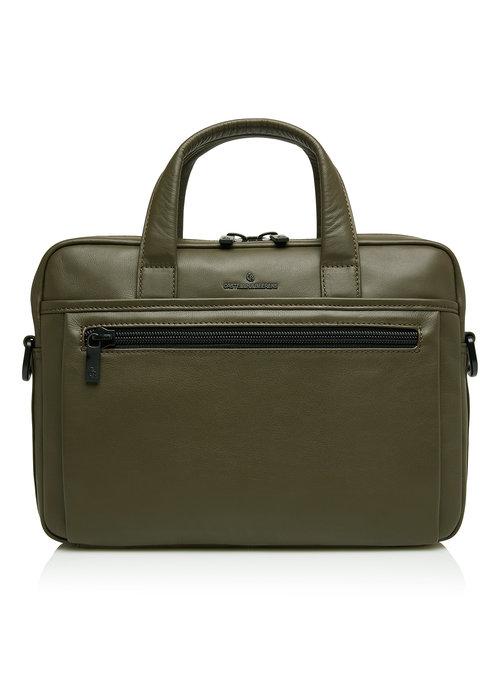 """Castelijn & Beerens Castelijn & Beerens 40 9460 DM Delta Laptoptas 13"""" plus Tablet Groen"""