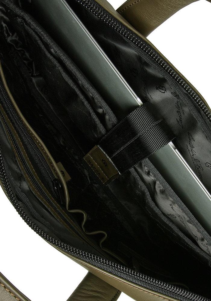 """Castelijn & Beerens 40 9460 DM Delta Laptoptas 13"""" plus Tablet Groen"""