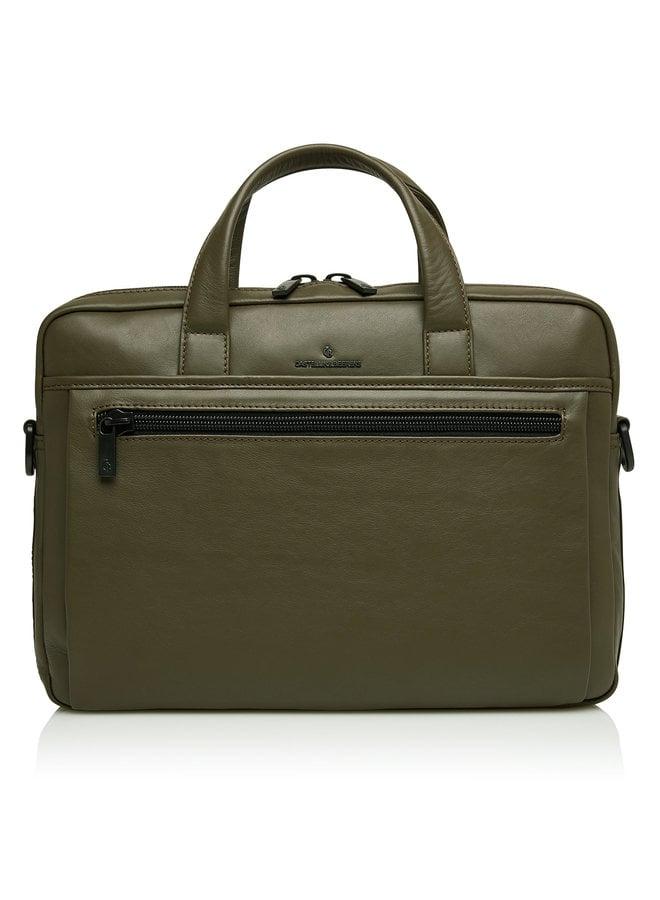 """Castelijn & Beerens 40 9472 DM Echo Laptoptas 15,6"""" plus Tablet Groen"""