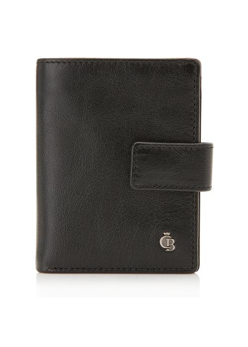 Castelijn & Beerens Castelijn & Beerens 64 0856 ZW Mini Wallet 10 Pasjes RFID Zwart