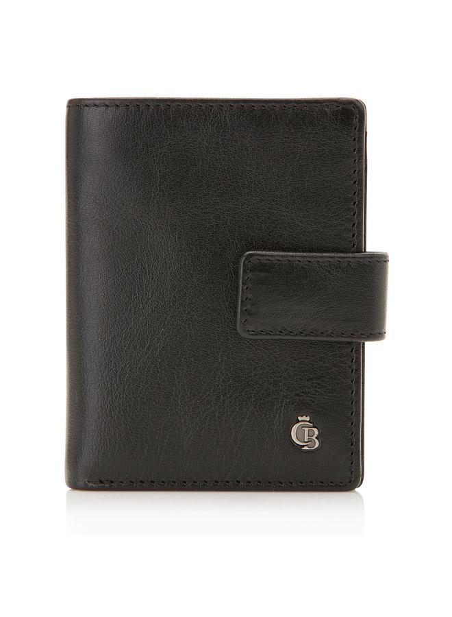 Castelijn & Beerens 64 0856 ZW Mini Wallet 10 Pasjes RFID Zwart