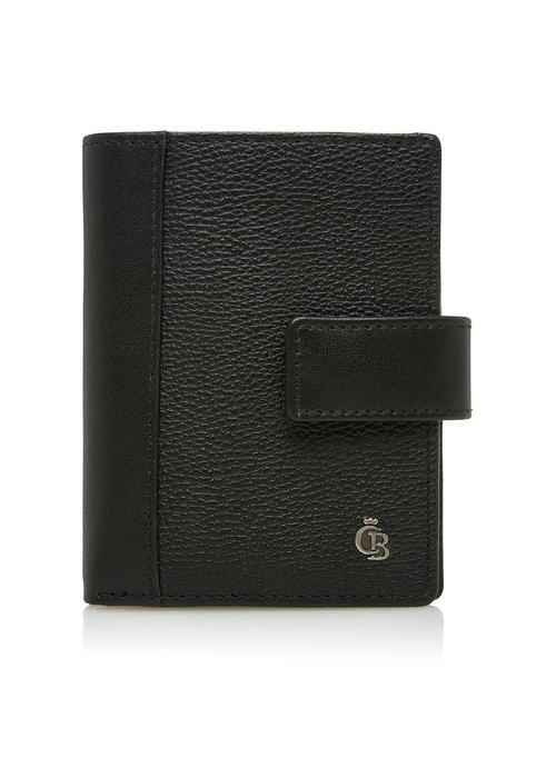 Castelijn & Beerens Castelijn & Beerens 69 0856 Mini Wallet 10 Pasjes RFID Zwart
