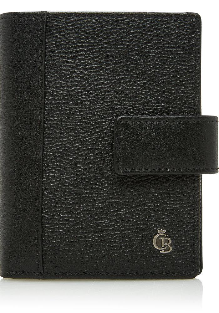 Castelijn & Beerens 69 0856 Mini Wallet 10 Pasjes RFID Zwart