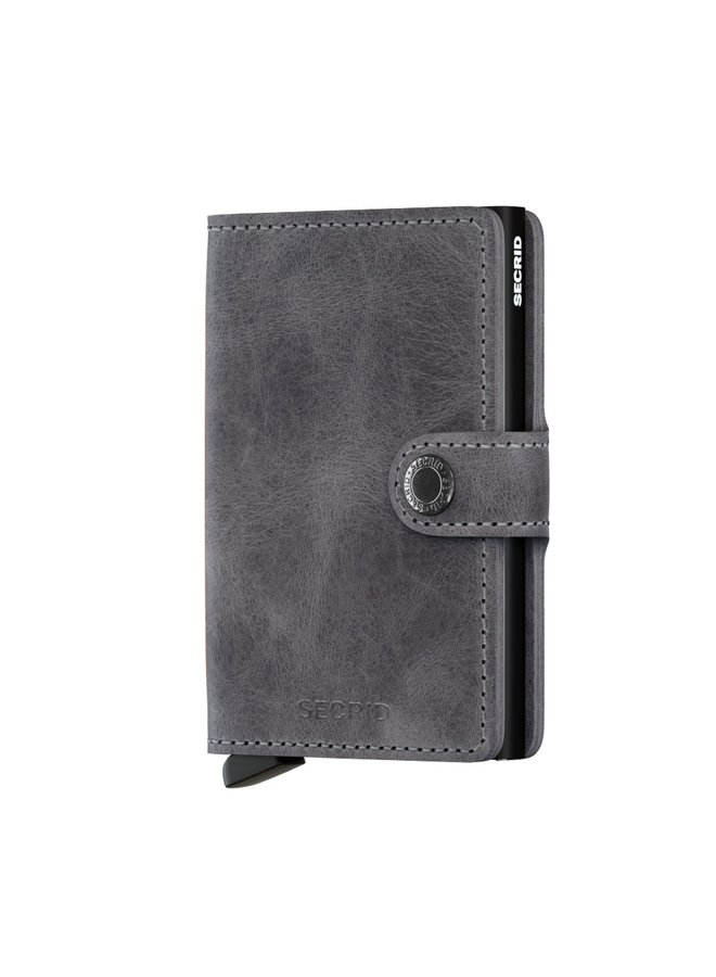 Secrid Miniwallet Vintage Grey Black