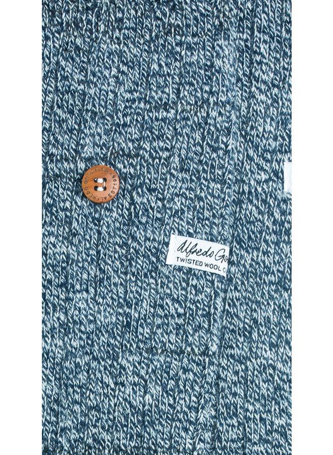 Alfredo Gonzales Socks Twisted Wool Blue