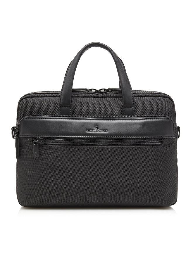 "Castelijn & Beerens 25 9472 Quebec Laptopbag 15,6"" Black"