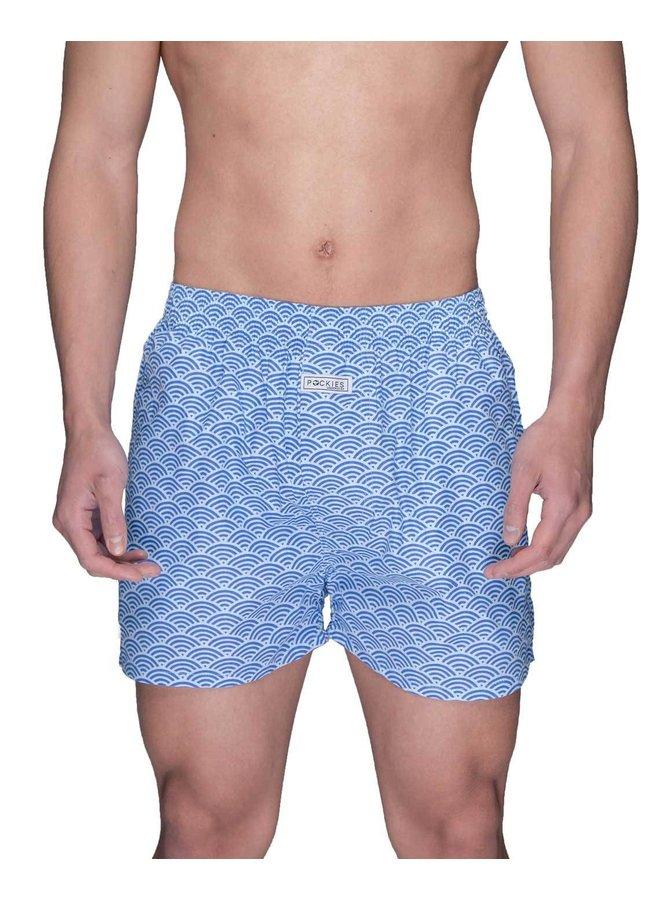 Pockies Underwear Wavy Blue