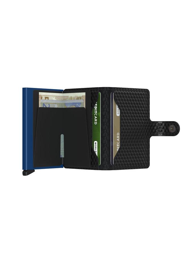 Secrid Miniwallet Cubic Black - Blue