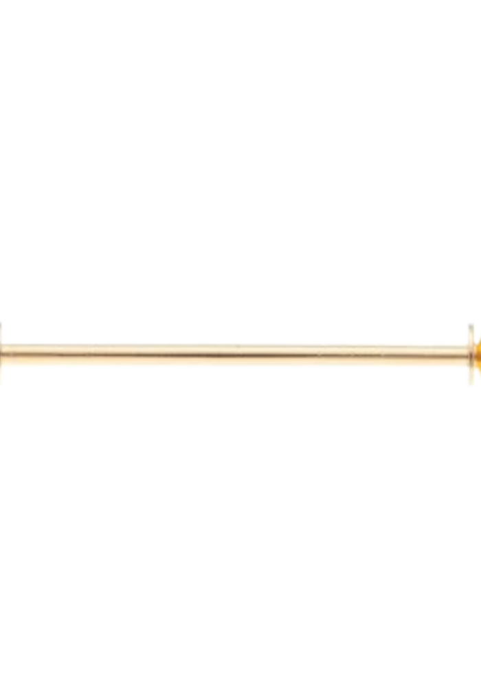 Les Deux Fréres Collar Bar Gold Plated AEPCS009