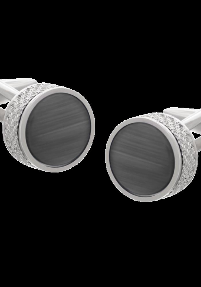Les Deux Fréres Cufflink On the Edge Black AEPCL2802
