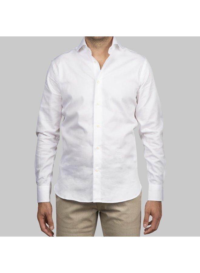 Shirt Lavendi Tomasso White Twill