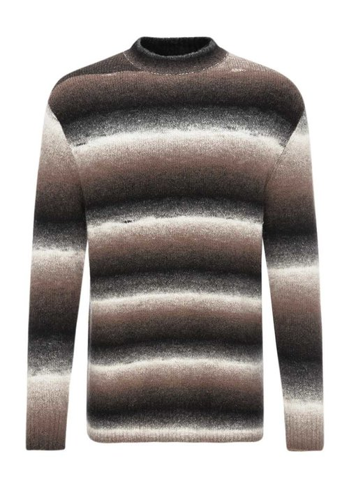 Drykorn Zayn Striped Pullover Sand Black