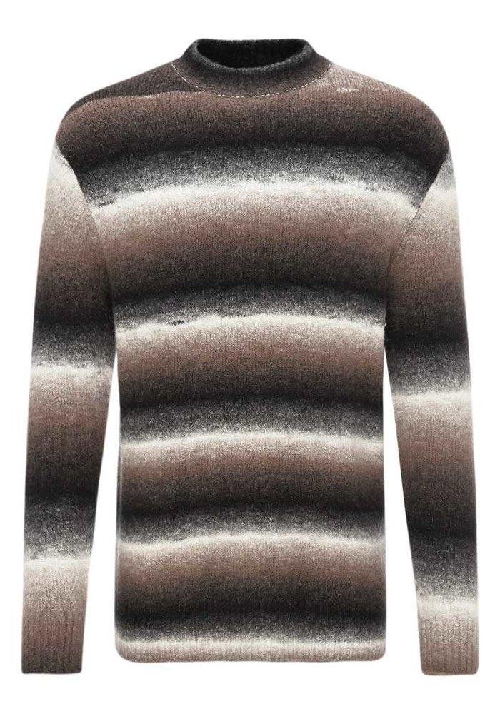 Drykorn Zayn Striped Pullover Sand Black