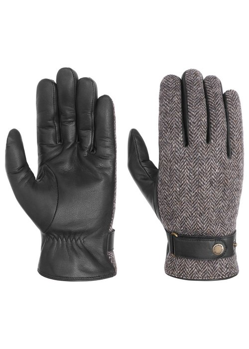 Stetson Stetson 9497205-1 Gloves Goat Nappa Wool Black