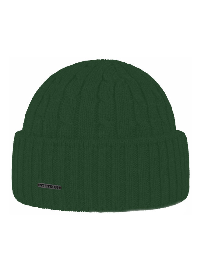 Stetson 8699352-52  Cable Knit Beanie Army