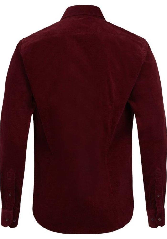 Bruun & Stengade Shirt Garfunkel Bordeaux