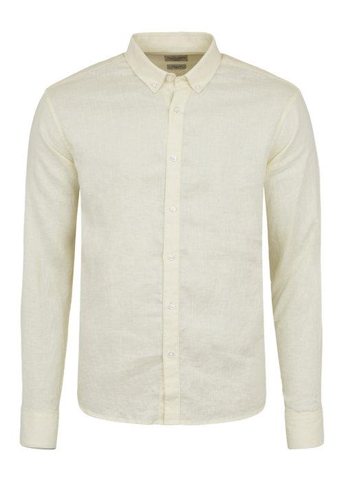 Bruun & Stengade Bruun & Stengade Nagano Shirt Slim Yellow