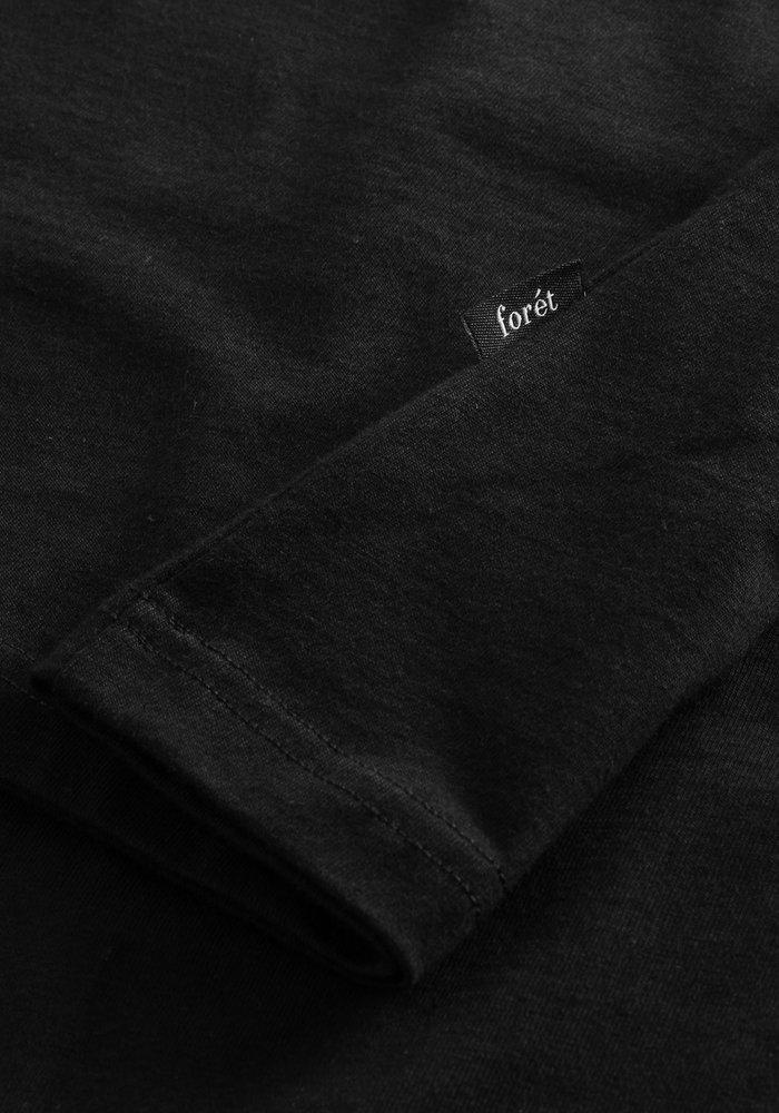 Forét T-Shirt Air Black