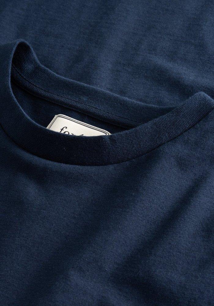 Forét T-Shirt Hawk Midnight Blue