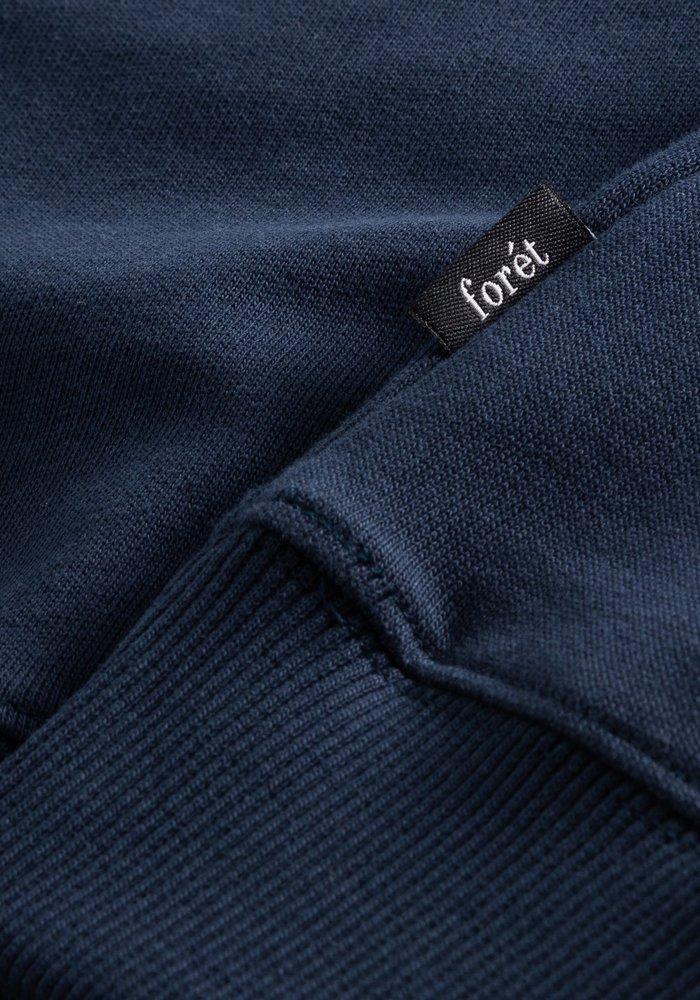 Foret Track Sweatshirt Midnight Blue