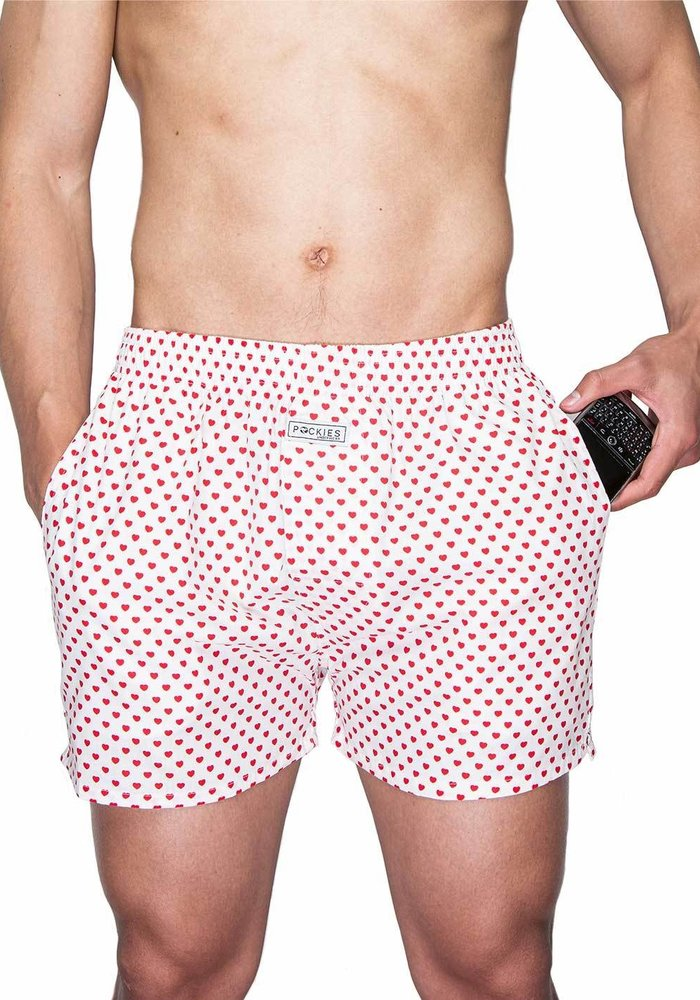 Pockies Underwear Boxer Dirty Luv Red