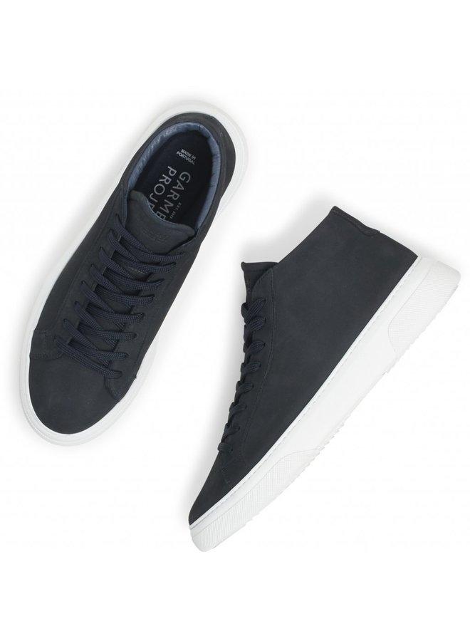 Garment Project Sneaeker Typ Mid Navy Nubuck