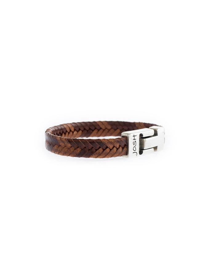 Josh Bracelet Brown Leather 24824